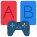 ab, development, experiment, game, test, testing icon