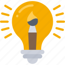 lightbulb, development, creative, game, thinking, idea