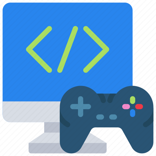 computer, console, controller, development, game, imac icon