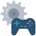 controller, design, development, game, management, settings icon