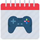 date, development, game, launch, release icon