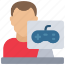 avatar, computer, designer, development, game, male
