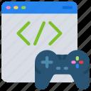 controller, development, game, online, software, website icon