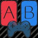 ab, development, experiment, game, test, testing icon