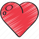 component, development, element, game, health, heart icon