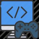 computer, console, controller, development, game, imac