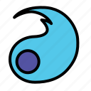 blue, fire, ghost, halloween, icon, soul icon