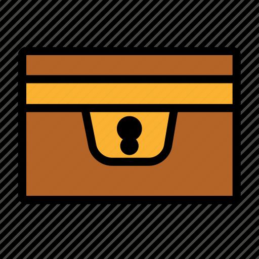 Box Chest Game Icon Inventory Treasure Icon
