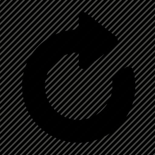 Refresh, reset, load, loading, resume icon - Download on Iconfinder