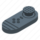 car, cartoon, computer, game, isometric, joystick, vr