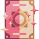 fantasy, game, game item, magic, pink, spells, tomes icon