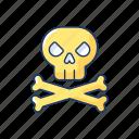 videogame, skull, bones, pirate