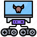 boss, creature, final, goal, monster, videogames icon