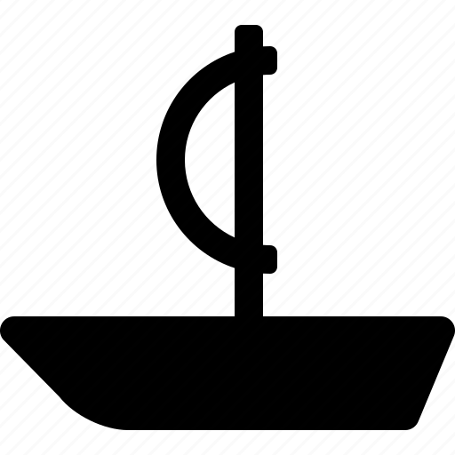 boat, ocean, sail, sea, ship, water icon