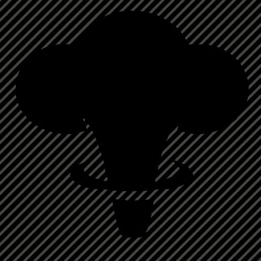 atomic, cloud, mushroom, nuclear, terrorist icon