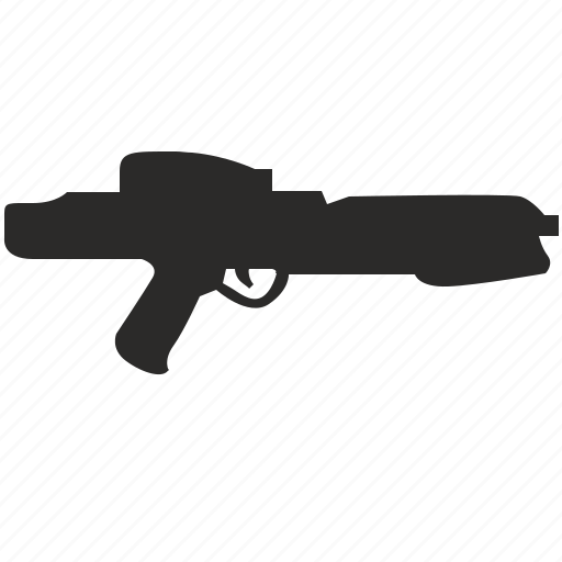 blaster, gun, pistol, star, wars, weapon icon