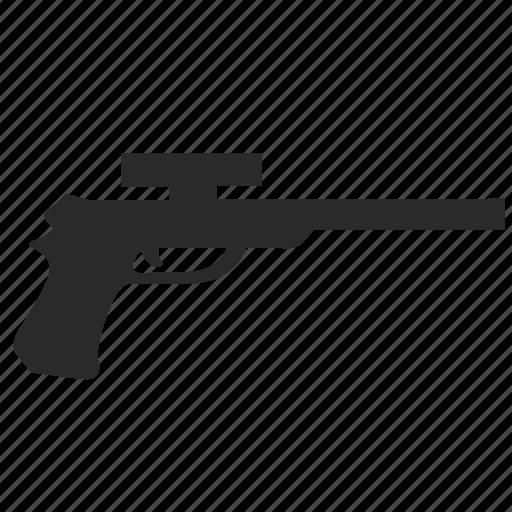 game, gun, pistol, terrorist, weapon icon