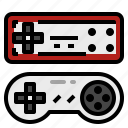 console, controller, game, joypad, joystick icon