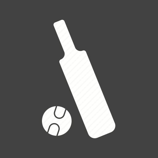 ball, bat, cricket, playing icon