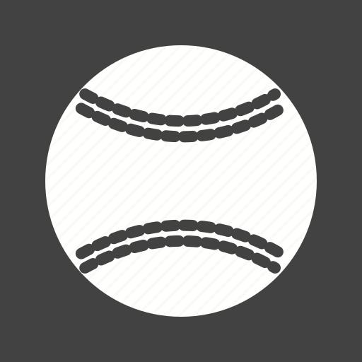 ball, base ball, cricket, softball icon