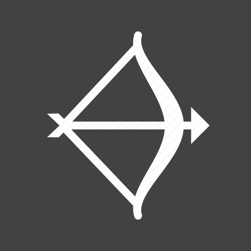 archery, arrow, bow, game icon