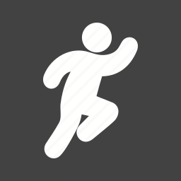 increase stamina, person, running, speed icon