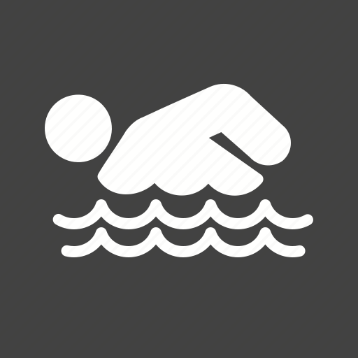 diving, person, swimming, water icon