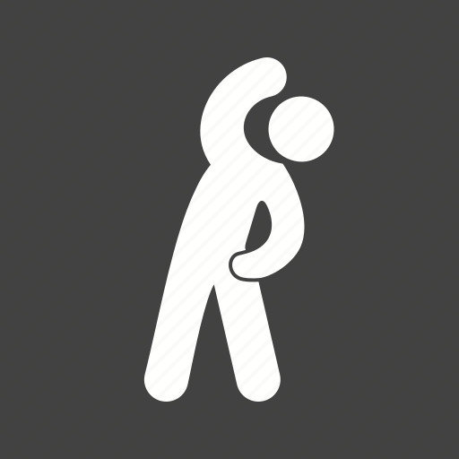 bending, exercise, health, person icon