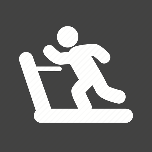 exercise, machine, person, running icon