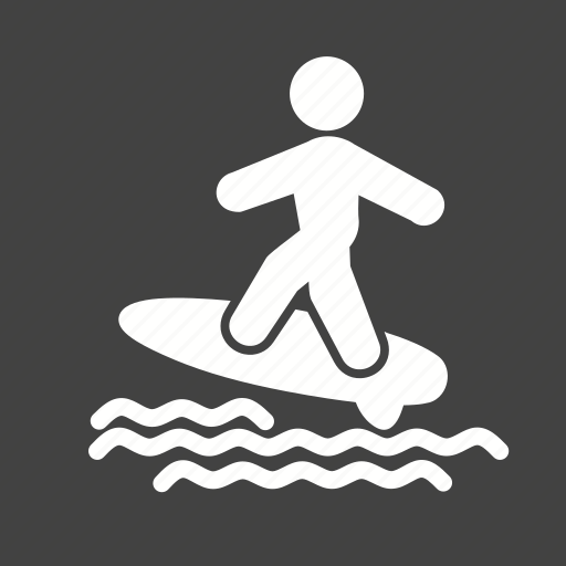 game, person, road, surfing, wheeling icon
