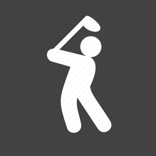 ball, game, goal, golf, player icon