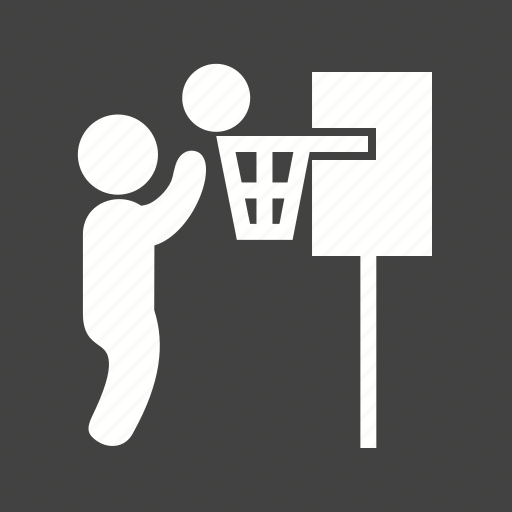 Ball, basket, basketball, game, goal, player icon - Download on Iconfinder
