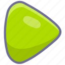 begin, play, start icon