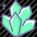 crystal, diamond, resource icon