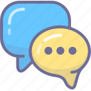 chat, comment, message, review icon