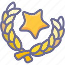 achievement, army, badge, military, war, winner icon