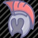 head, helmet, human icon