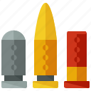 ammo, ammunition, game, games, gaming, shoot, weapon icon