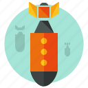 airstrike, bomb, bombing, bombs, games, gaming, war icon