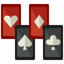 cards, casion, gamble, gambling, games, gaming icon