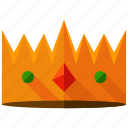 achievement, crown, games, gaming, king, value, winner icon