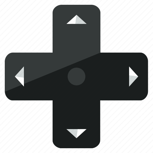 arrows, controller, directions, games, gaming, pointer icon