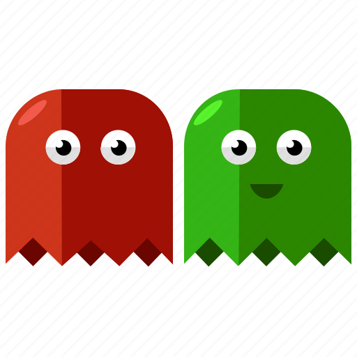 entertainment, games, gaming, ghost, monsters icon
