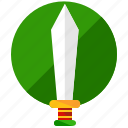 blade, entertainment, games, gaming, knife, sword, weapon icon