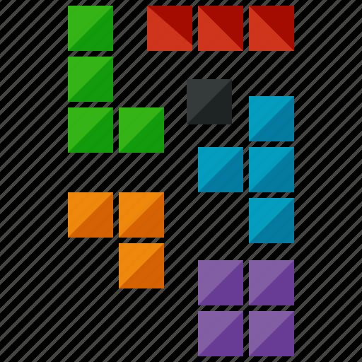 blocks, entertainment, game, games, gaming, tetris icon