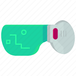 controller, game, gaming, glasses, play, spectacles icon