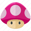 fungi, game, games, gaming, mario, mushroom icon