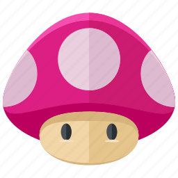 fungi, game, games, gaming, mario, mushroom icon