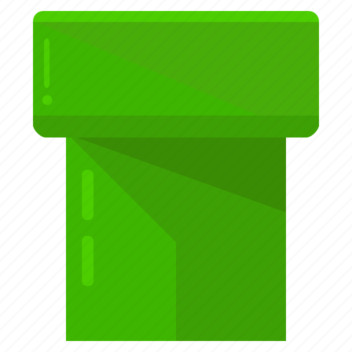 entertainment, filter, games, gaming, mario, tunnel icon