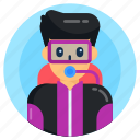 diver, scuba diver, aquanaut, swimmer, diving person icon